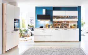 Einbauküche Fashion 173, Lack weiß, inklusive Privileg Elektrogeräte
