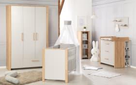 Babyzimmer 5009 in Artisan Eiche-Nachbildung/lichtgrau