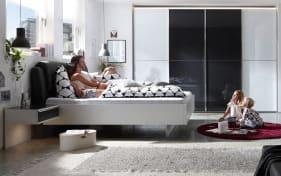 Schlafzimmer Studioline in weiß/anthrazit