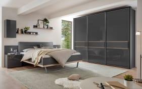 Schlafzimmer 4008 in vulkan/Struktureiche-Nachbildung, Schrankbreite ca. 298 cm