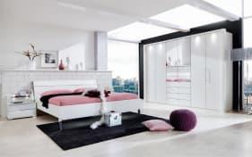 Schlafzimmer Loft in alpinweiß