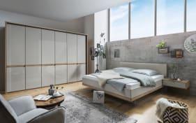 Schlafzimmer Barcelona in Bianco Eiche-Optik