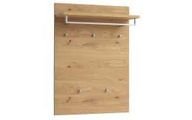 Garderobenpaneel Vedo Set 2 aus Balkeneiche