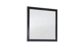 Spiegel Ventina in anthrazit, 80 x 77 cm