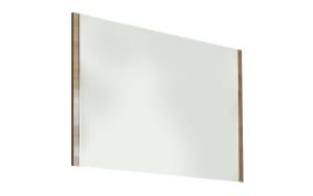 Spiegel Una in Bardolini-Eiche-Nachbildung, 118 x 79 cm