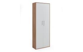 Schrank 7005 in Artisan Oak Nachbildung-weiß Matt, 2 Türen