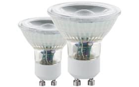 LED-Leuchtmittel 3,3 W / GU10, 2er-Set