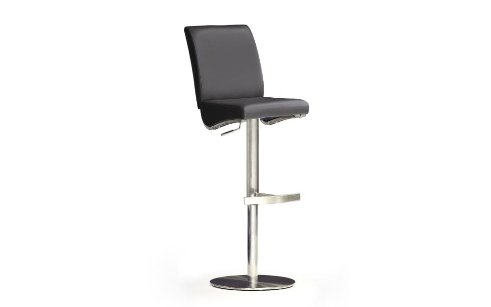 MCA furniture Barhocker Bar.be.cool in schwarz / Edelstahl