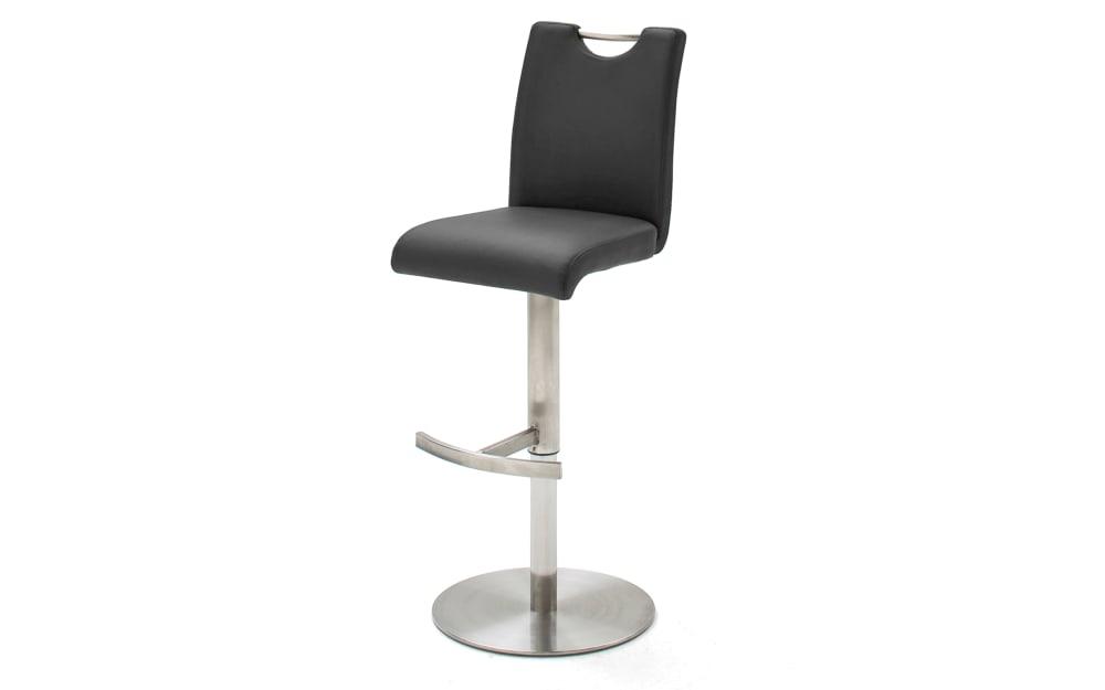 MCA furniture Barhocker Alesi in schwarz