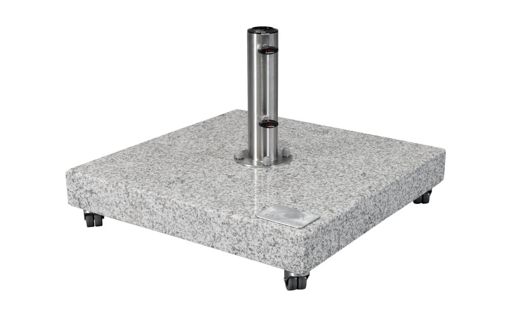 Doppler Granitplatte hellgrau poliert