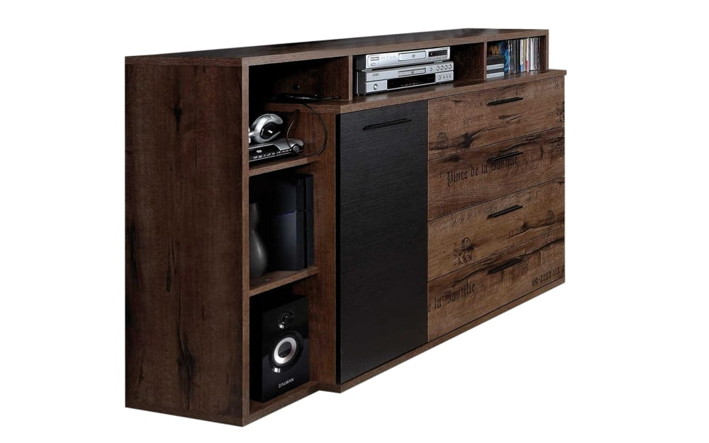 Forte Sideboard Jacky in Schlammeiche-Optik