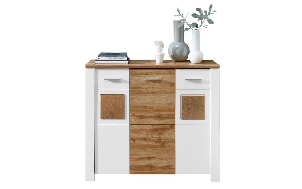 Vito Kommode 6011 in Holz-Nachbildung/weiß, 122 cm