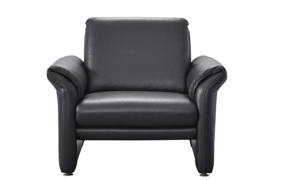 Musterring Sessel 24980 terza in schwarz