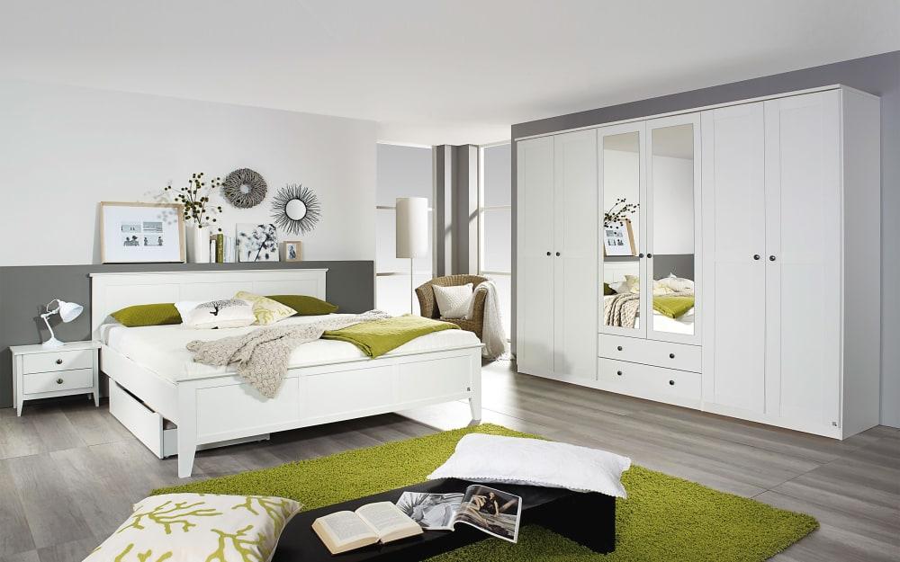 Rauch orange Schlafzimmer Rosenheim in weiß