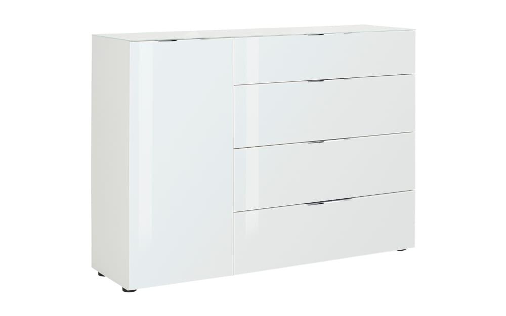 Maja Kommode Trend in weiß, ca. 135 cm Breit