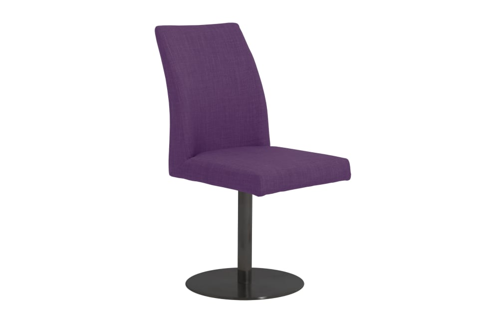 Mondo Stuhl 3028 in lila, mit drehbarem Sitz
