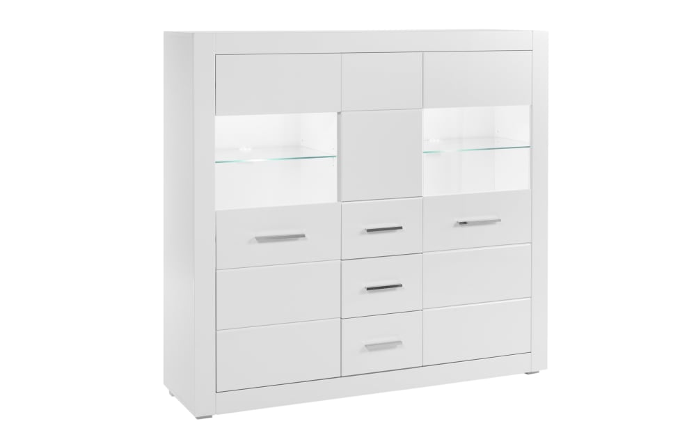 IMV Highboard Bianco in weiß