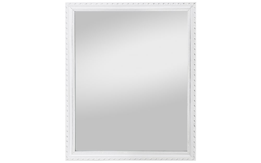 Spiegelprofi Rahmenspiegel Lisa in weiß, 45 x 55 cm