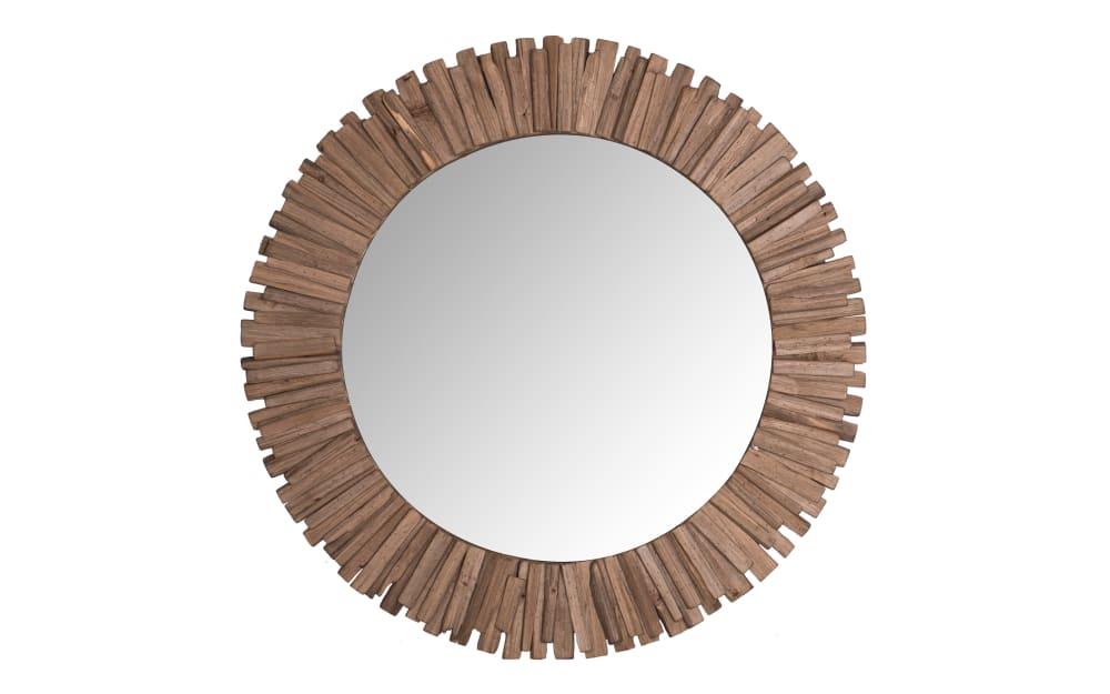Spiegel Felina aus Echtholz, 110 cm