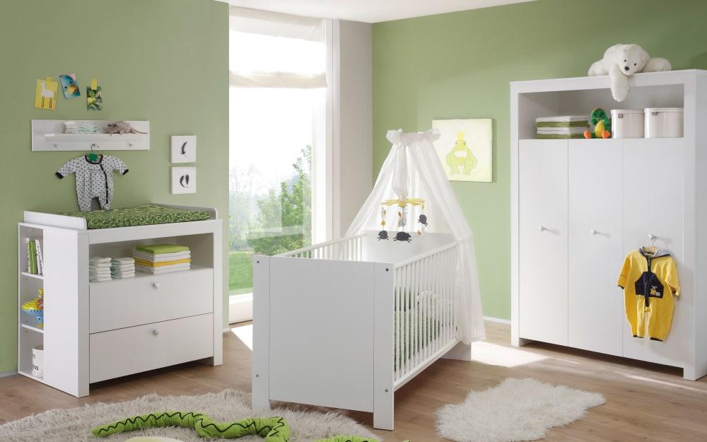 Trendteam Babyzimmer Olivia in weiß