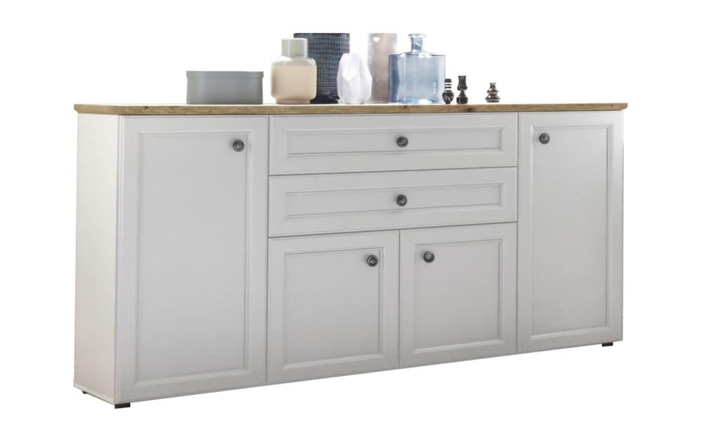 Bega Hbz Meble Sideboard Toskana in weiß