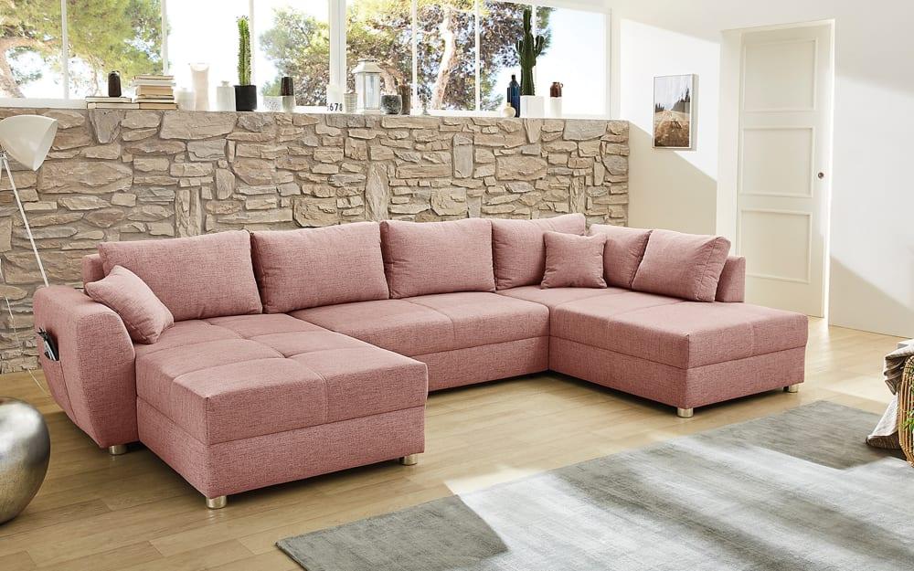 JOB Wohnlandschaft Starnberg in rosa