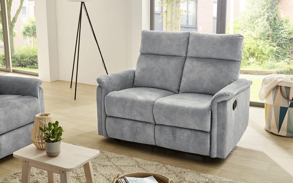Pro.Com Sofa Amrum 2 in Vintage hellgrau