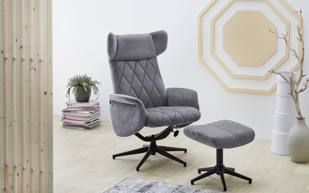 Pro.Com Relax-Chair Verona in grau