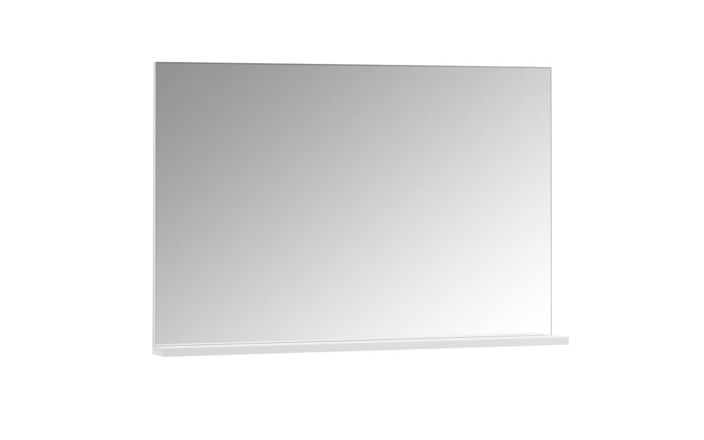 Spiegel Miramar in weiß, 100 x 68 cm