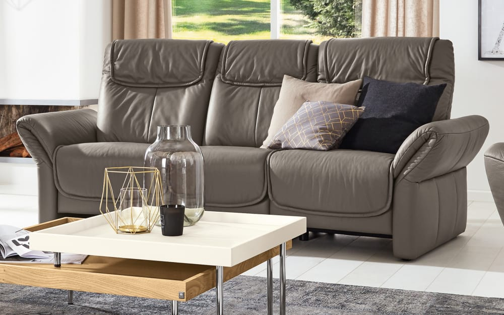 Musterring Trapezsofa MR 380 in elephant