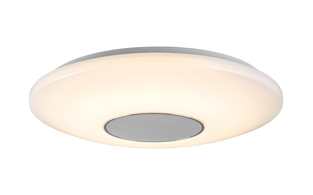 Wofi LED-Deckenleuchte Apollon mit Bluetooth-Lautsprecher