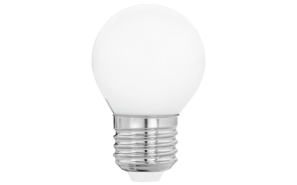 Eglo LED-Leuchtmittel Globus G45 Milky, 4W / E27