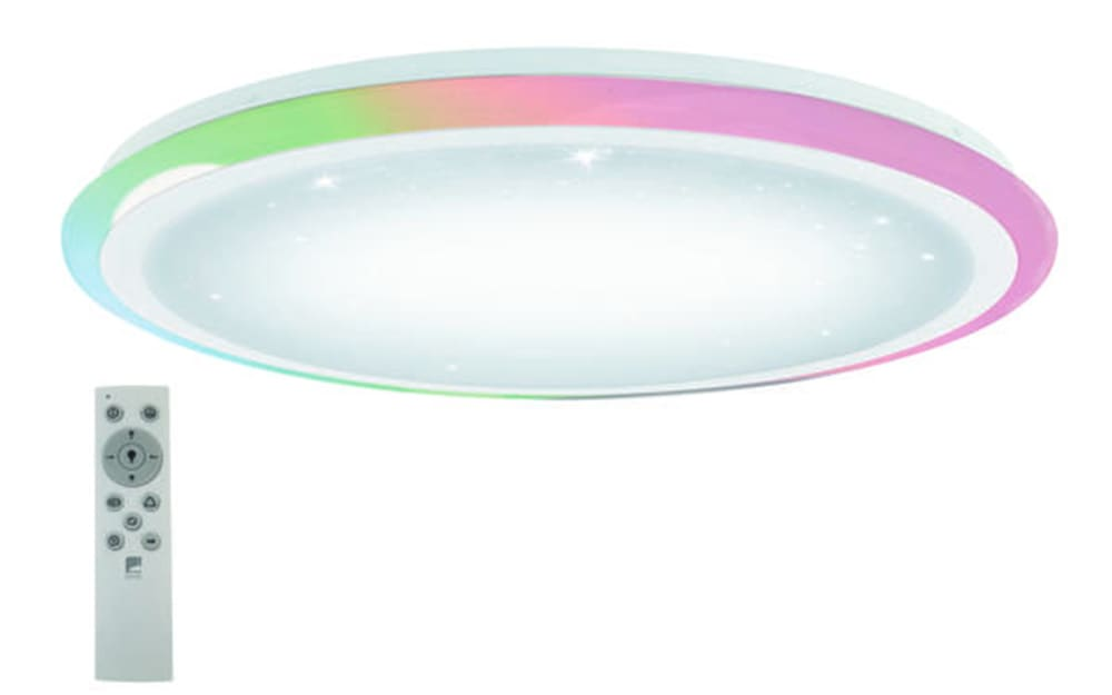 Eglo LED-Deckenleuchte Lipari mit Kristalleffekt, 60 cm