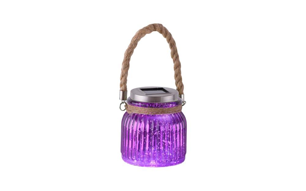 Paul Neuhaus LED-Solarleuchte Solar in purpur/violet, 11,5 cm