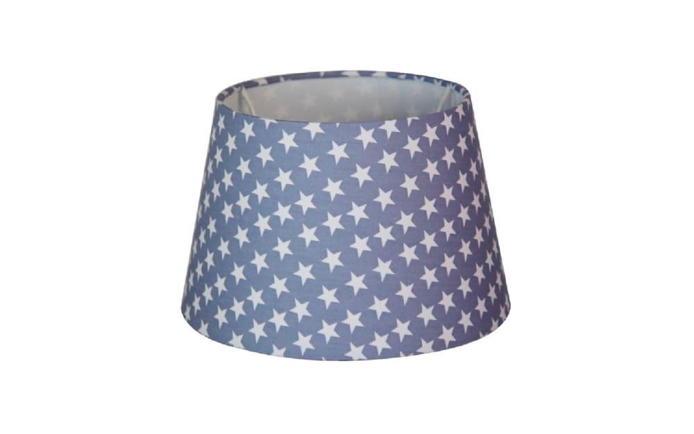Various Lampenschirm Sterne in blau, 20 cm