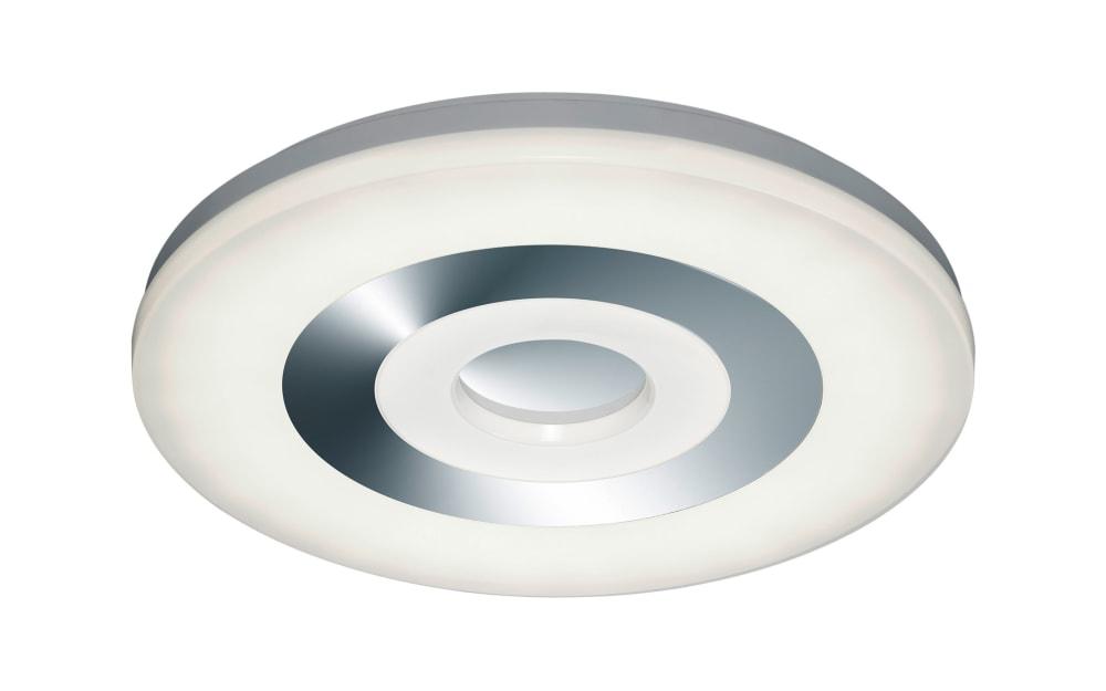 Trio Leuchten LED-Deckenleuchte Shaolin in weiß, 45 cm