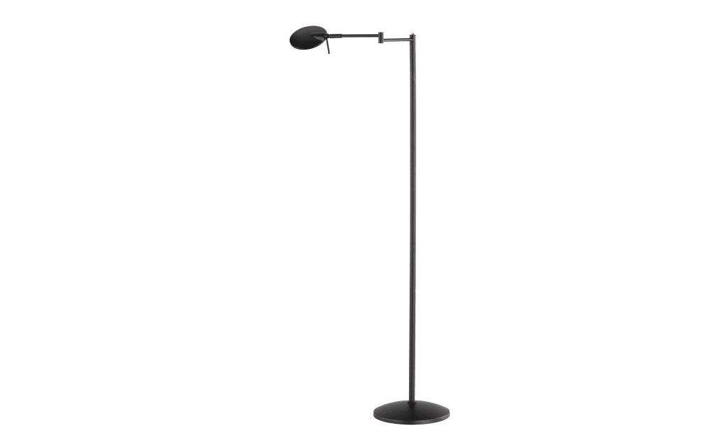Trio Leuchten LED-Standleuchte Kazan in schwarz