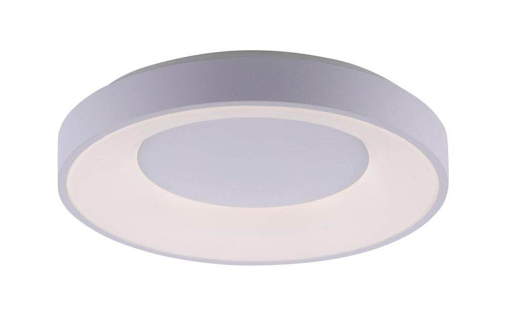 Leuchtendirekt LED-Deckenleuchte CCT Anika in weiß, 50 cm