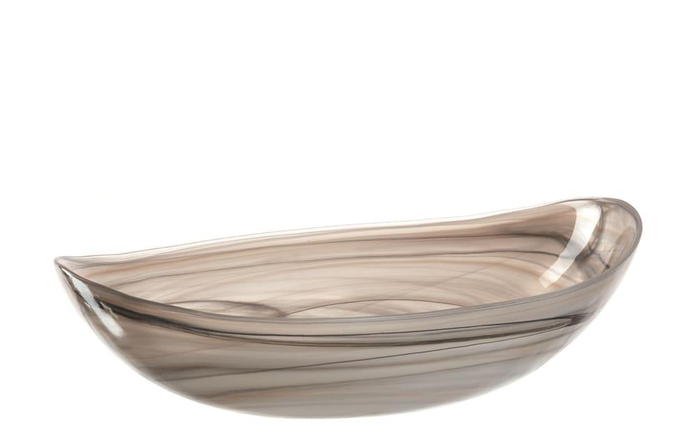 LEONARDO Schale Alabastro in beige, 32 x 22 cm