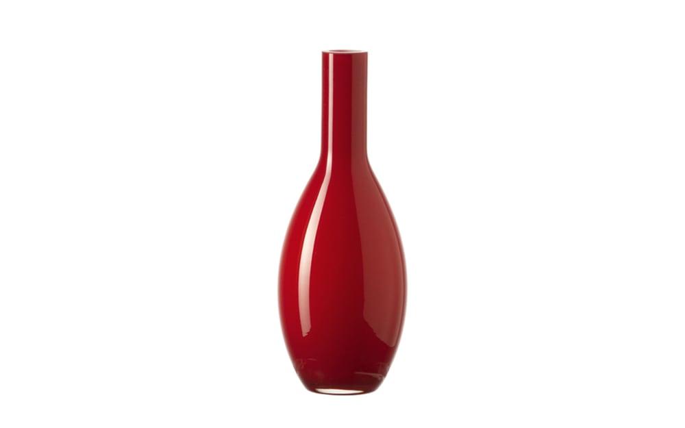 LEONARDO Tischvase Beauty in rot, 18 cm