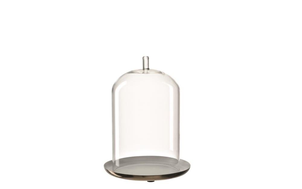 LEONARDO Haube mit Teller in klar, 20 cm