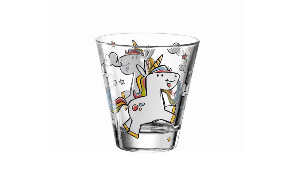 Glas Koch Kinderbecher Bambini Einhorn, 215 ml