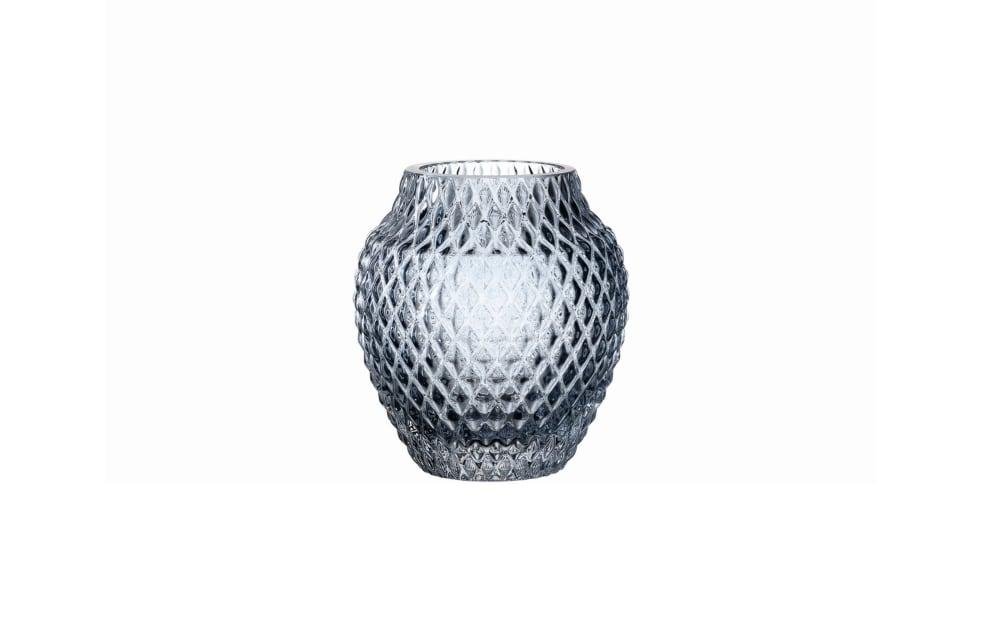 LEONARDO Vase Poesia in blau, 11 cm