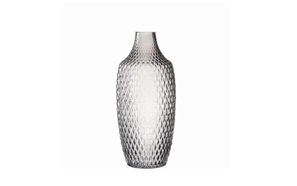 LEONARDO Vase Poesia in grau, 30 cm