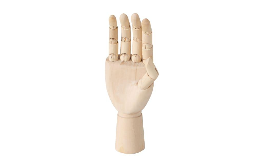 Boltze Figur Hand aus Holz, 19 cm