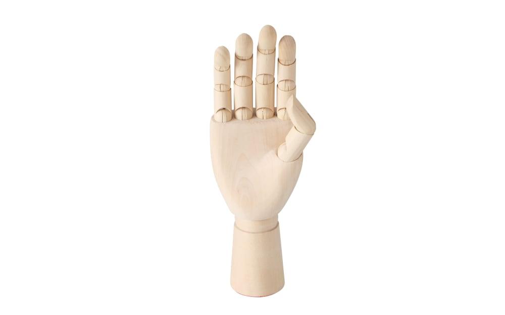 Boltze Figur Hand aus Holz, 25 cm