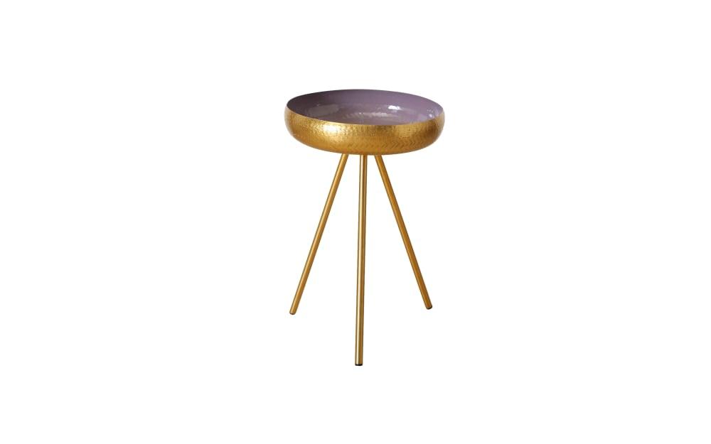 Boltze Tisch Danica in gold, 56 cm