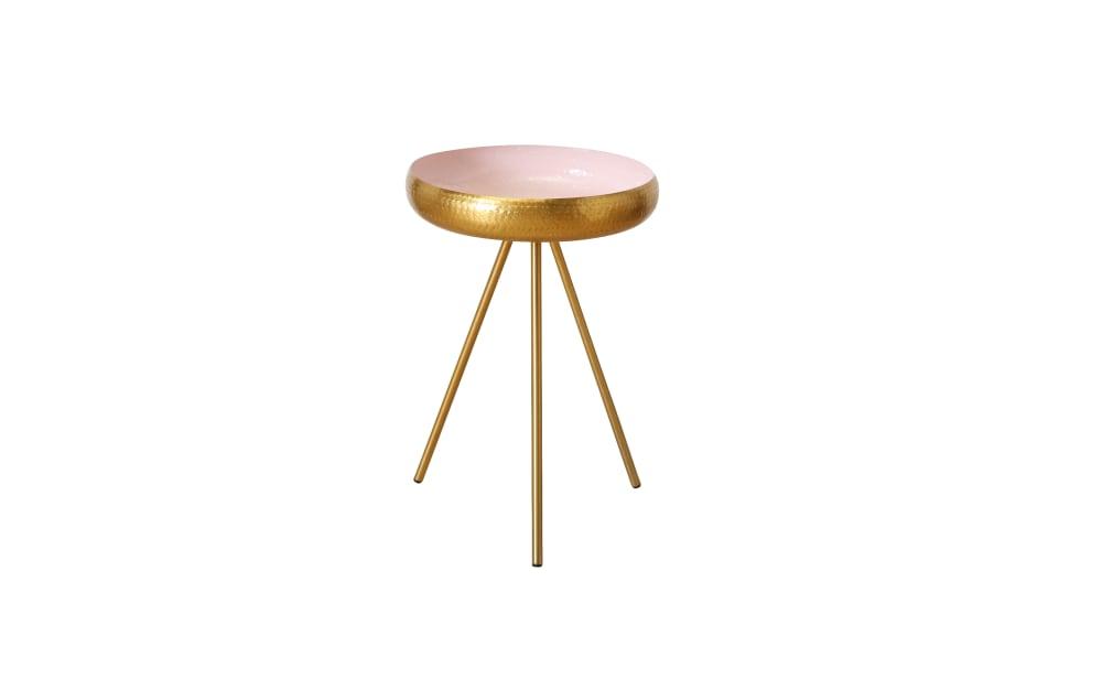 Boltze Tisch Danica in gold, 60 cm