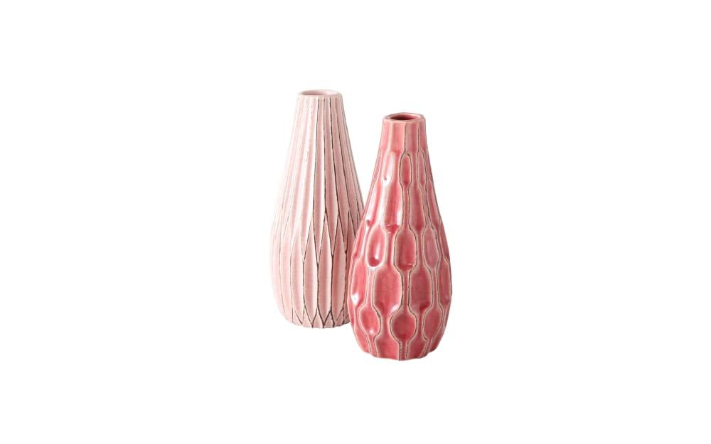 Boltze Vase Lenja in unterschiedlichen Farben, 24 cm