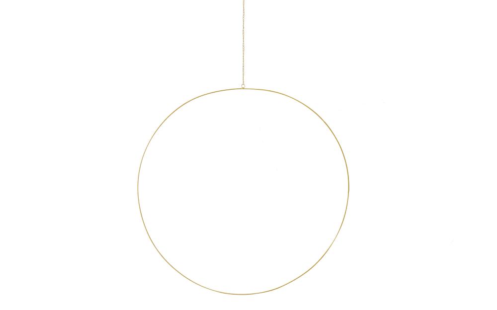 Boltze Dekohänger Rumba in gold, 75 cm